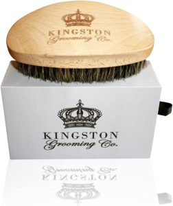 Kingston Grooming Natural Boar Hair Bristle Brush