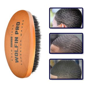 Wolfin Pro Curved 360 Wave Brush